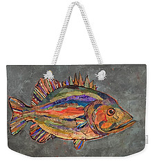 Billy The Bass Weekender Tote Bag