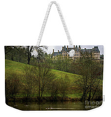 Biltmore Estate At Dusk Weekender Tote Bag