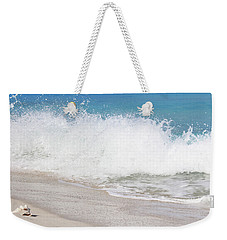 Bimini Wave Sequence 3 Weekender Tote Bag
