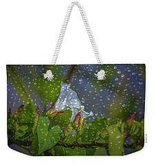 Bindweed Droplets 1 #g1 Weekender Tote Bag by Leif Sohlman