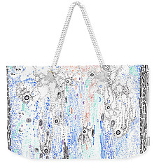 Bingham Fluid Or Paste Weekender Tote Bag by Regina Valluzzi