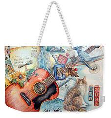 Bio Bits Weekender Tote Bag