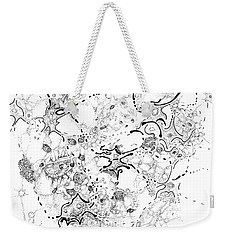 Biology Of An Idea Weekender Tote Bag by Regina Valluzzi