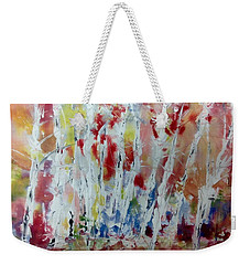 Birch Abstract No.22 Weekender Tote Bag