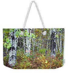 Birch And Ferns Weekender Tote Bag