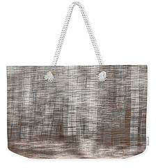 Weekender Tote Bag featuring the photograph Birch At The Forest Edge by Thomas Young
