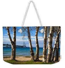 Birch At The Mac Weekender Tote Bag