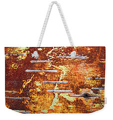 Birch Bark Volcano Weekender Tote Bag