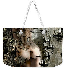 Birch Beauty Weekender Tote Bag by Tlynn Brentnall
