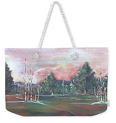 Birch Grove Weekender Tote Bag