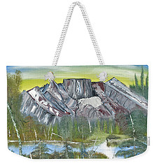 Birch Mountains Weekender Tote Bag