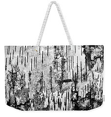Birch Tree Abstract #2 Weekender Tote Bag