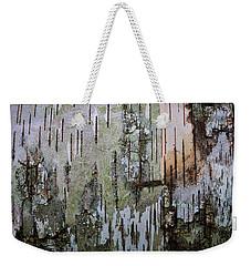 Birch Tree Abstract #3 Weekender Tote Bag