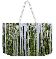 Birch Tree Abstract Weekender Tote Bag