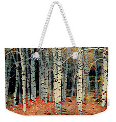Birch Tree Forest 1 Weekender Tote Bag