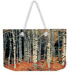 Birch Tree Forest 1 Weekender Tote Bag