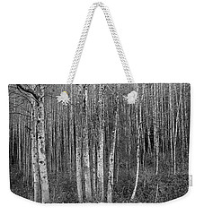 Birch Tress Weekender Tote Bag