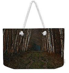 Birches At Blue Hour Weekender Tote Bag