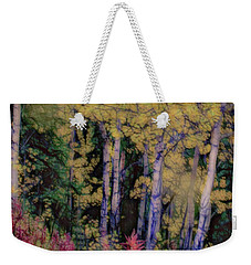 Birches At The Perch #1 Weekender Tote Bag