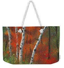 Birches II Weekender Tote Bag