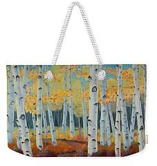 Birchwood Forest Weekender Tote Bag