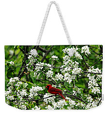 Bird And Blossoms Weekender Tote Bag