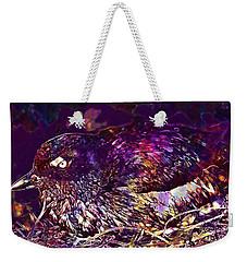 Bird Cassins Auklet Crested Birds  Weekender Tote Bag