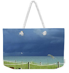 Bird Flies Over Captiva Weekender Tote Bag