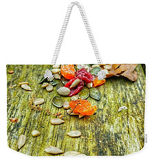 Bird Food Weekender Tote Bag by Isabella F Abbie Shores FRSA