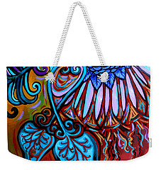 Bird Heart II Weekender Tote Bag by Genevieve Esson
