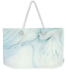 Bird In Flight Weekender Tote Bag
