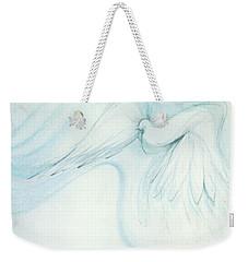 Bird In Flight Weekender Tote Bag by Denise Fulmer