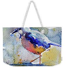 Bird In Lake Weekender Tote Bag