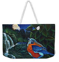 Bird In Paradise Viii Weekender Tote Bag