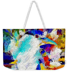 Bird In Paridise Weekender Tote Bag by Adam Olsen