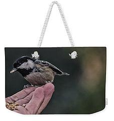 Bird In The Hand  Weekender Tote Bag