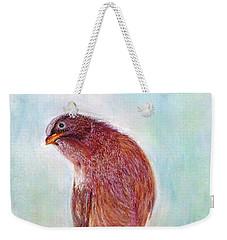 Bird Weekender Tote Bag by Jasna Dragun