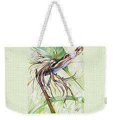 Bird Of Paradise, A Faded Beauty Weekender Tote Bag