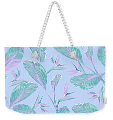 Bird Of Paradise Weekender Tote Bag by Elizabeth Tuck
