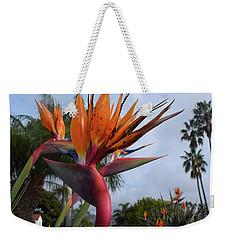 Bird Of Paradise Peace And Joy Weekender Tote Bag
