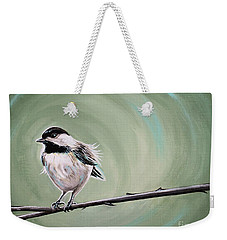 Bird On A Branch Weekender Tote Bag