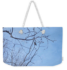 Bird On A Limb Weekender Tote Bag by Jewel Hengen