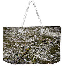 Bird On A River Weekender Tote Bag