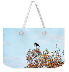 Bird On Tree Weekender Tote Bag
