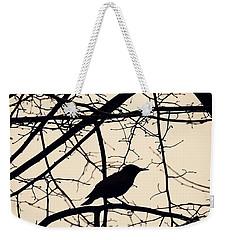 Bird Silhouette Weekender Tote Bag by Sarah Loft
