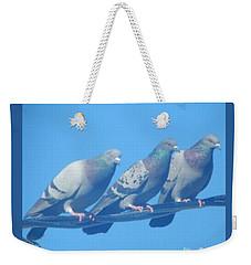 Bird Trio Weekender Tote Bag