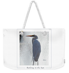 Birds And Fun At Butler Park Austin - Birds 2 Macro Poster Weekender Tote Bag