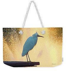 Birds And Fun At Butler Park Austin - Birds 3 Detail Macro Weekender Tote Bag