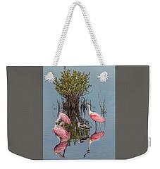 Birds And Mangrove Bush Weekender Tote Bag