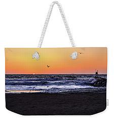 Birds At Sunrise Weekender Tote Bag